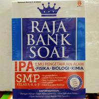 Buku Raja Bank Soal IPA FISIKA-BIOLOGI-KIMIA SMP 7,8,9 by Ratnasari K.
