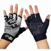 Sarung Tangan Anti Slip Untuk Sepeda Atau Motor, Fox