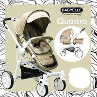 Stroller Baby Elle Quatro Stroler Bayi Murah Kereta Dorongan Anak Bayi
