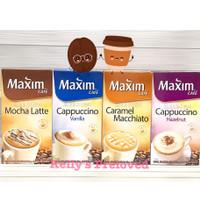 MAXIM CAFE COFFEE | Mocha Latte Caramel Macchiato Vanilla Hazelnut - MOCHA