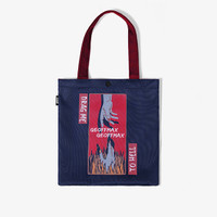 Geoff Max Official - Helmi Navy Red | Tas Selempang | Tote Bag