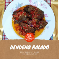 Dendeng Batokok Balado Cabe Merah (Basah / Kering) 250 Gram