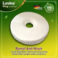 Luvina Ring Cushion Bantal Wasir Latex / Ambeien / Bantal Donat