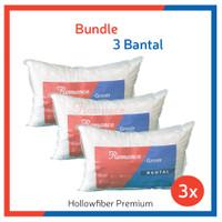 BUNDLING HEMAT!! 3 Bantal Hollow Fiber Premium (Romance Grosir)