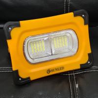 Lampu Sorot LED Portable Solar Powerbank 60 Watt SUNLED