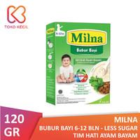 Milna Bubur Bayi 6+ Tim Hati Ayam Bayam 120 gr