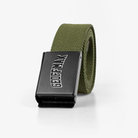 Geoff Max Official - Ligend Green Army | Leather Belt | Ikat Pinggang