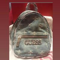 tas guess original backpack denim