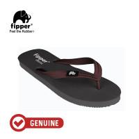 Fipper Classic / Sandal Jepit Unisex / Grey / Brown Havana