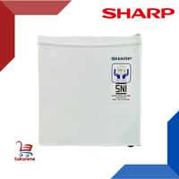 Kulkas Mini Portable SHARP 45 Liter Low Watt untuk Kos/Hotel