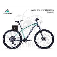 "Sepeda Gunung MTB 27.5"" Avand Bronx Alloy Shimano Deore 11 Speed"