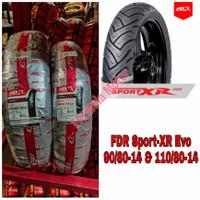 Sepasang Ban FDR 110/80-14 & 90/80-14 Sport XR Evo Tubeless R14