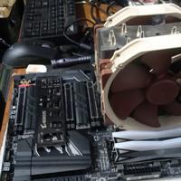 Gigabyte X399 Aorus Gaming 7 vs Threadripper 1950X Ram32GB Ddr4 Noctua