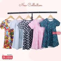 Dress Thalia 1-5 Tahun / Dres Lengan Baju Tidur Balita Anak Perempuan