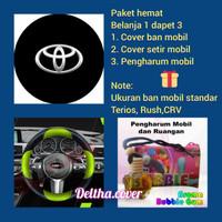 Cover ban paket hemat mobil HONDA CRV ukuran ban standar gambar custom