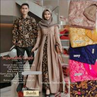 Sarimbit Batik - Couple Gamis Sarwendah Baju Pesta