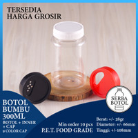 Botol Bumbu 300ml + Inner + Tutup (Kode: BSBP)