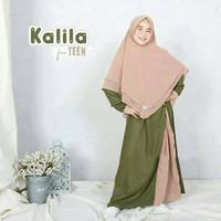 Gamis Anak Perempuan Usia 9-12 Tahun KALILA KIDS Baju Anak Muslim -