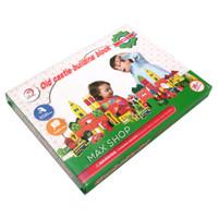 Mainan Anak Puzzle Kayu Bangunan Kastil Old Castle Building Block