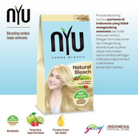 Nyu Creme Hair Color Natural Bleach 6001052
