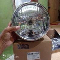 Headlamp Reflektor lampu depan Yamaha scorpio Z
