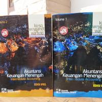 sepaket akuntansi keuangan menengah edisi IFRS buku 1 dan 2 - kieso