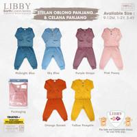LIBBY Earth Series Stelan Oblong Panjang Baju Anak SNI Pakaian Baby