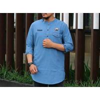 Baju Muslim Kemeja Koko Kurta Bola Persija Jakarta Yharaaa