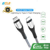 ECLE Kabel Usb Lightning to Type C 3A/60W Power Delivery Fast Charging