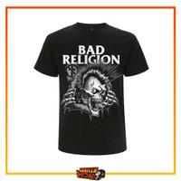 Kaos Musik Original Band BAD RELIGION Bust Out Punk Rock PHD Official - S