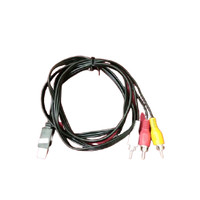 USB Male A to 3x RCA AV A/V TV Video adapter Lead Cable