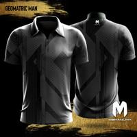 Jersey Tembak Mekanuma - Geomatric Man