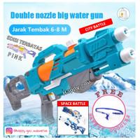Mainan Anak Big Water Gun Jumbo Pistol Air Tembakan Besar