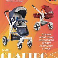 Stroller Babyelle Quatro Stroler Baby Elle Murah Kereta Dorong Bayi