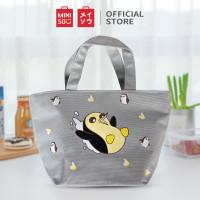 MINISO We Bare Bears Tas Kotak Makan Siang Tempat Penyimpanan Bento