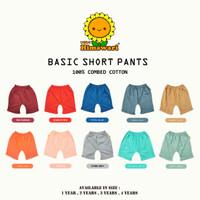 Himawari - Premium Basic Cotton Short / Celana Pendek Anak Premium Qua