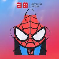 MINISO Marvel Apron Chef Celemek Dapur Karakter Tahan Minyak Aprons
