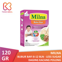 Milna Bubur Bayi 8+ Daging Kacang Polong 120 gr