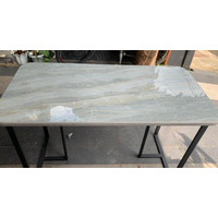 Sabrinadewi9602 Meja Makan Meja Kantor Meja Belajar Grey Granit Marmer