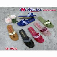 Grosir Sandal Sendal Selop wanita new era LB 10032 size 37 - 40