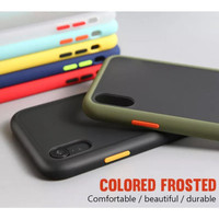 ASUS ZENFONE MAX PRO M1 SOFT CASE MATTE COLORED FROSTED