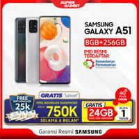Samsung A51 8/256 GB Galaxy Amoled RAM 8 ROM 256 8GB 256GB Murah Resmi