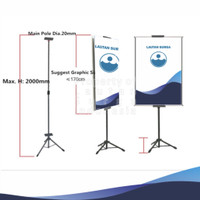 Tripod Standing Banner - 2 Sisi
