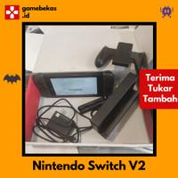 [GAMEBEKAS.ID] Nintendo Switch Neon / Grey V2 Second Bekas Fullset
