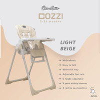 High Chair Cocolatte Cozzi / Kursi Makan Anak Bayi - beige