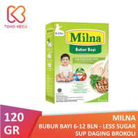 Milna Bubur Bayi 6+ Sup Daging Brokoli 120 gr