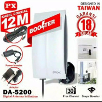 LSC - Antena TV Digital Booster PX DA 5200 indoor outdoor