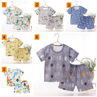 PREMIUM Baju Bayi Kaos Anak Setelan Celana Pendek Laki Perempuan Tipis