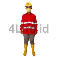 Wearpack Atasan / Kemeja Safety / Seragam Safety
