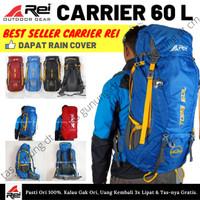 AREI 60 Liter TOBA | Tas Gunung Carrier Rei Pendaki Ransel Keril Ori